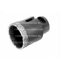 Gyémántfúró, gyémánt lyukfúró sarokcsiszolóra száraz, vagy vizes fúrás D40 mm (351740000)
