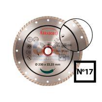 Turbo gyémánttárcsa D115×22,2 mm csempe, padlólap, tégla stb…  (711500017)