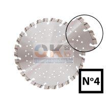 Gyémánttárcsa D125×22,2 mm beton termékek, eternit, samott, gránit, mészkő stb… száraz (712500004)
