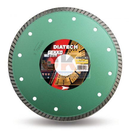 Diatech gyémánttárcsa GEKKO csempe, greslap, járólap vágására  30/25,4×180mm (gk180)