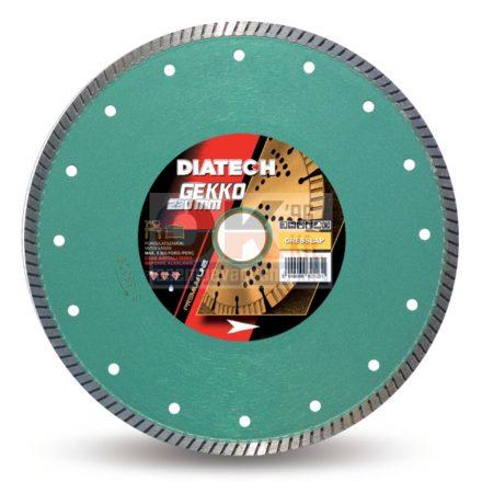 Diatech gyémánttárcsa GEKKO csempe, greslap, járólap vágására  25,4×250mm (gk250)