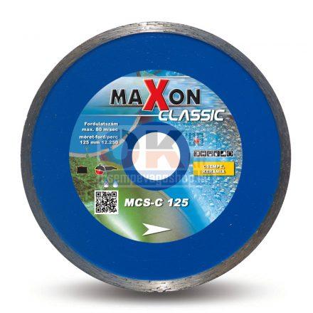 Diatech gyémánttárcsa Maxon csempe járólap vágására CLASSIC  22,2×125mm (mcs125c)
