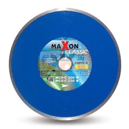 Diatech gyémánttárcsa Maxon csempe járólap vágására CLASSIC  30/25,4×230mm (mcs230c)