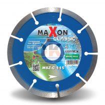 Diatech gyémánttárcsa csempe járólap vágására CLASSIC szegmenses  22,2×125mm (msz125c)