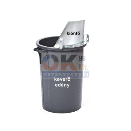Raimondi padloponozáshoz keverő és öntőedényhez kiöntő    (r238cv01a)