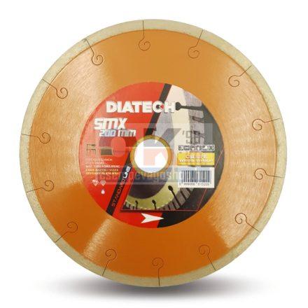 Diatech gyémánttárcsa SMX csempe, greslap, járólap vágására  30/25,4×200mm (smx200)