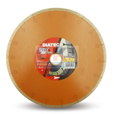 Diatech gyémánttárcsa SMX csempe, greslap, járólap vágására  25,4×250mm (smx250)