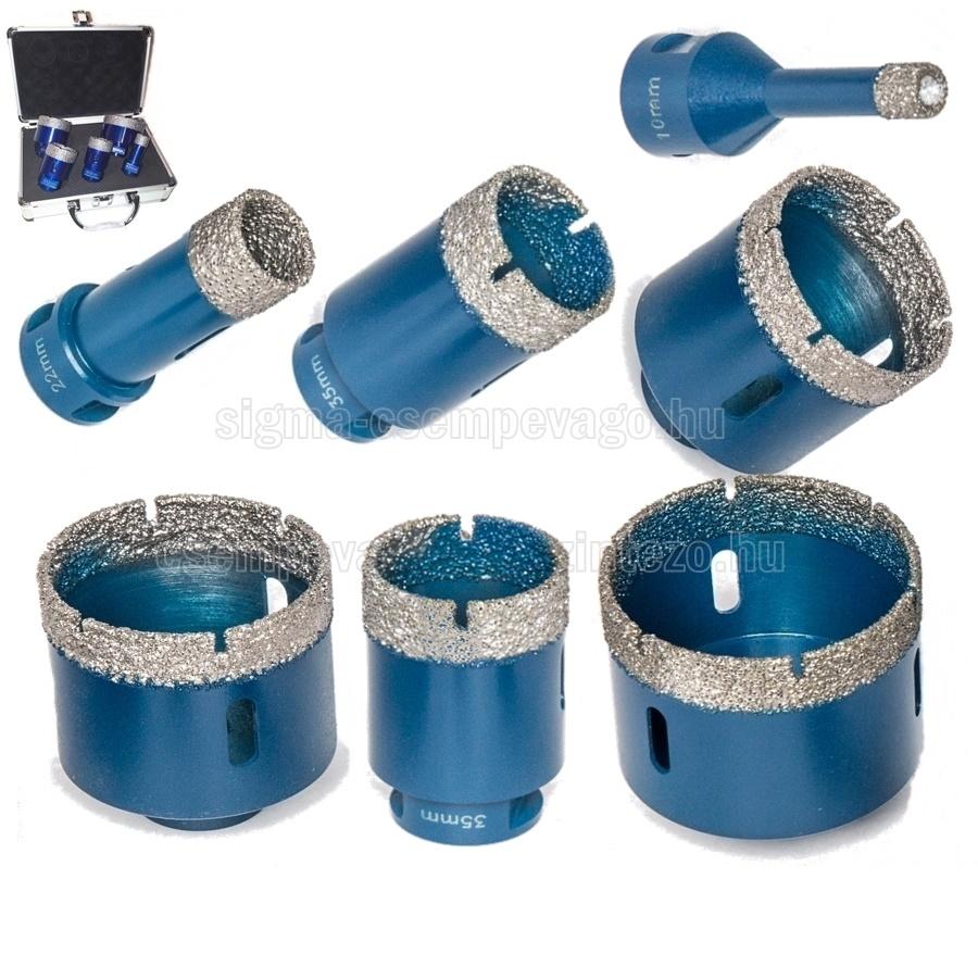 Gyémánt lyukfúró használata és fajtái
